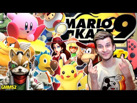 MARIO KART 9 ULTIMATE!: New Characters That Make The Most Sense! (Nintendo Switch)