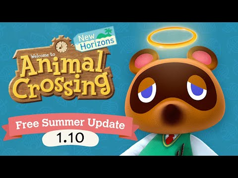 END OF ACNH UPDATE?! New Animal Crossing 1.10 Update NOT New Horizons 2.0 Update :(