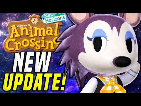 THEY PUT HIM IN?! New Animal Crossing Update 1.10! (May Day ACNH New Horizons 1.10 Update)