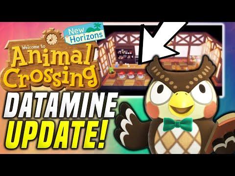 ACNH 2.0 DATAMINE! New Animal Crossing Update! NPC, New Shops, etc! New Horizons 2.0 (Switch Update)