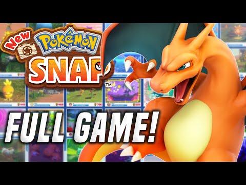 NEW POKEMON SNAP Gameplay: ALL NEW POKEMON! (Nintendo Switch Pokemon Snap Tips & Secrets)
