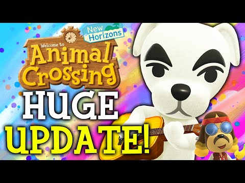 Animal Crossing May Update - ALL New Features, Events, Villagers, Fish, Bugs in New Horizons!