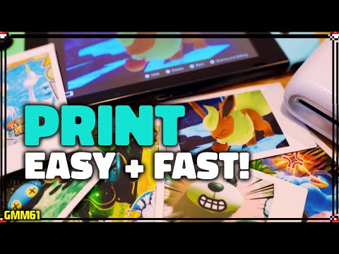 How To PRINT New Pokemon Snap Pictures On Nintendo Switch! (Instax Switch Printer)