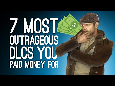 7 Most Outrageous DLCs We Can't Believe They Charged Real Money For