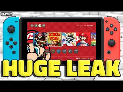 Nintendo Switch E3 2021 GAMES Leak