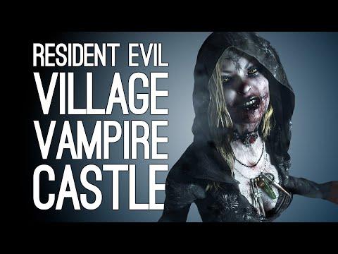 Resident Evil Village Episode 2! TALL VAMPIRE LADY CASTLE