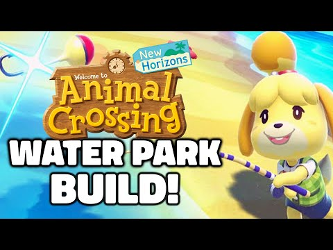 Building An AMAZING Water Island! New Animal Crossing Tips in New Horizons (ACNH Switch Update)
