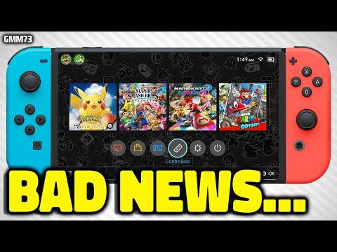 Nintendo Switch BAD NEWS Just Happened...