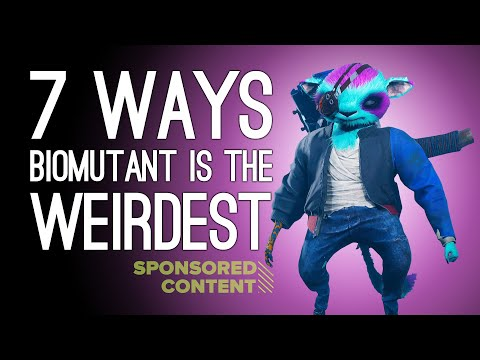7 Ways Biomutant is the Weirdest Game You'll Play This Year (Sponsored Content)