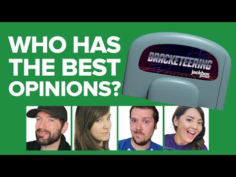 Who has the BEST OPINIONS? Jackbox Bracketeering in Challenge of the Week!