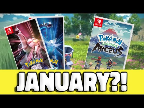 HUGE NINTENDO SURPRISE! Pokemon Legends Arceus Release Date Comes EARLY on Nintendo Switch!