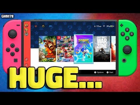 NEW Nintendo Switch Pro & Switch Games REVEALED...
