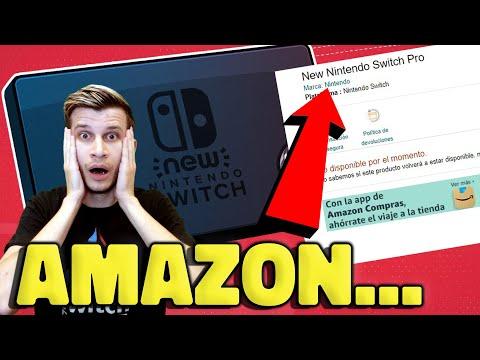 New Nintendo Switch Pro LISTING Leaks!