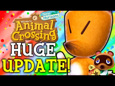 Animal Crossing June Update - ALL New Features, Events, Villagers, Fish, Bugs in New Horizons!