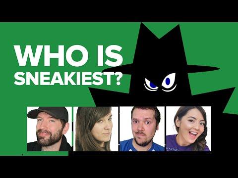 Who is the SNEAKIEST? Jackbox Fakin' It in Challenge of the Week!