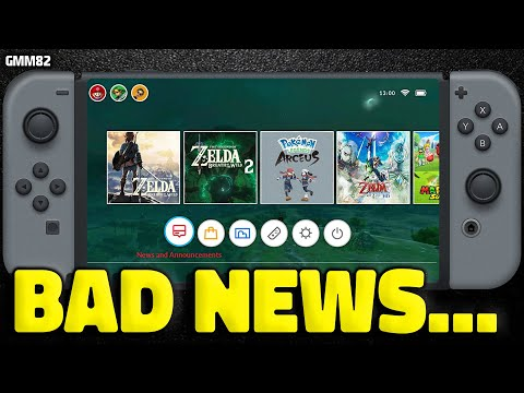 Nintendo Switch BAD NEWS For Zelda Just Dropped...