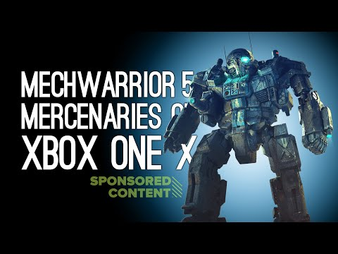 Mechwarrior 5 Mercenaries on Xbox Series X: WATCH THE PAINT JOB - 3 Ways To Play (Sponsored Content)