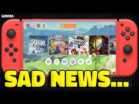 Nintendo Switch SAD NEWS Plans Changed...