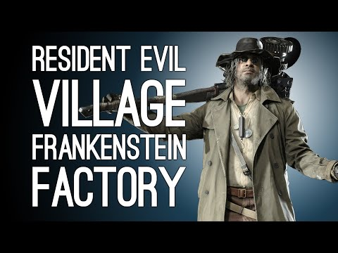 Resident Evil Village Episode 5! FRANKENSTEIN FACTORY FUN TIMES