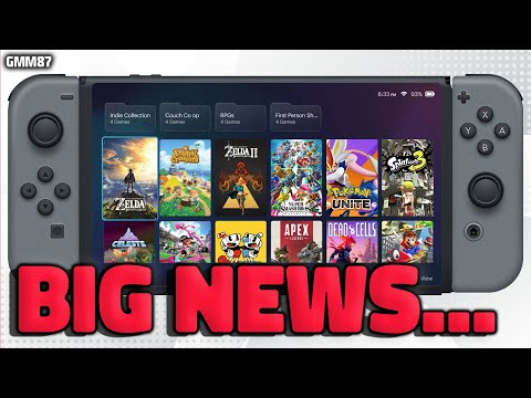 Nintendo Switch BIG NEWS for Switch Pro...