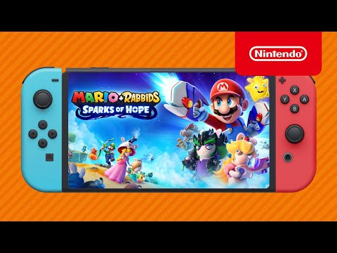 Mario + Rabbids Sparks of Hope GAMEPLAY News + RELEASE DATE on Nintendo Switch!