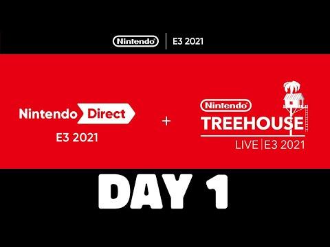 Nintendo Switch News E3 2021 DAY ONE RECAP!