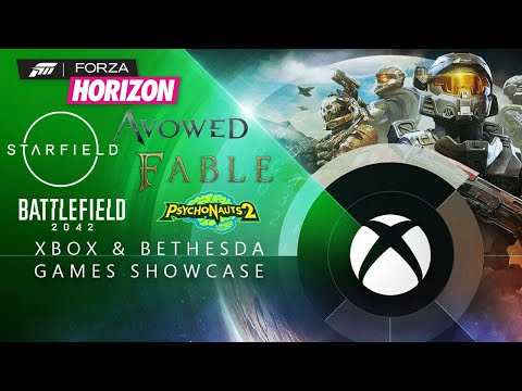 Xbox and Bethesda Games Showcase E3 2021! NEW GAMES LIVESTREAM