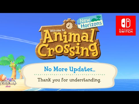 Animal Crossing New Horizons Is Over...