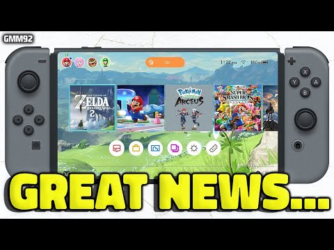 Nintendo Switch GREAT NEWS Just Dropped...