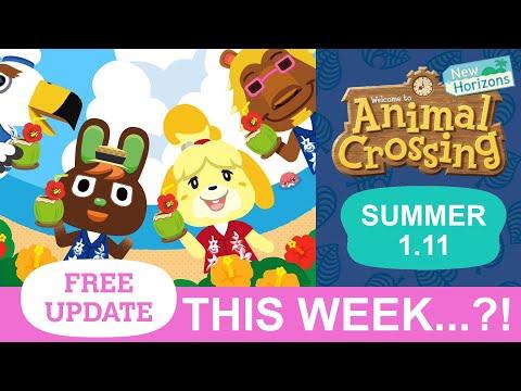Animal Crossing Summer Update THIS WEEK?!