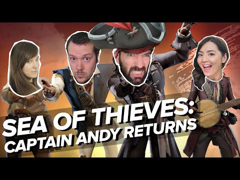Sea of Thieves Pirates of the Caribbean   CAPTAIN ANDY ON DECK (Sea of Thieves A Pirate's Life)
