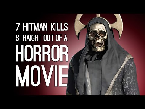 7 Over the Top Hitman Kills Straight Out of a Horror Movie