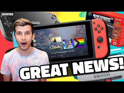 Nintendo Switch GREAT NEWS Just Revealed...