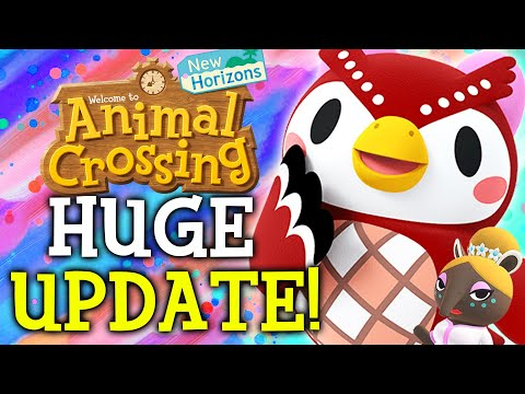 Animal Crossing July Update - ALL New Features, Events, Villagers, Fish, Bugs in New Horizons!