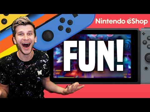 HILARIOUS New Switch Gameplay! Play THIS Game With Friends!