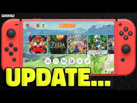Nintendo Switch STRANGE NEWS Update...