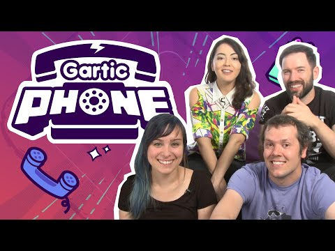 GARTIC PHONE The Telephone Game   Who's Best at Drawing? in Challenge of the Week