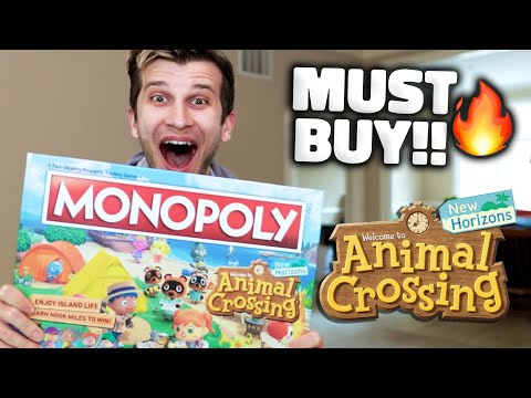Animal Crossing Monopoly: The BEST UPDATE of 2021!🔥🔥