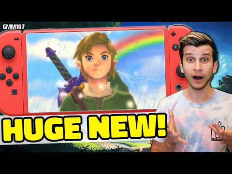 Nintendo Teasing a HUGE Switch Feature for Zelda Skyward Sword HD?! + New Leaks!