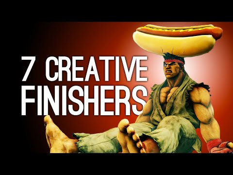 7 Creative Fighting Game Finishers for Violence Connoisseurs