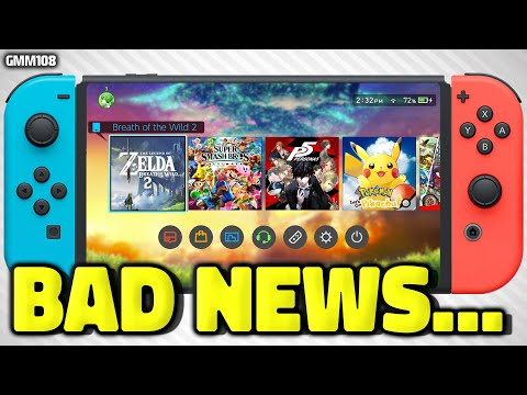 Nintendo Switch BAD NEWS Just Dropped...