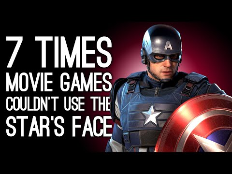 7 Times Movie Games Couldn't Get the Actor's Likeness So Here's Some Random - Part Two