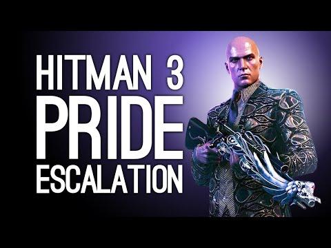 Hitman 3: SHUT UP, PEACOCK!   Hitman 3 Pride DLC Escalation