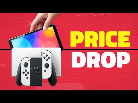Nintendo Switch OLED Price Drop To $299 Today…