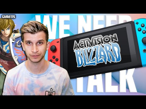 Nintendo Switch News Today! + We Need To Talk: Activision Blizzard Lawsuit...