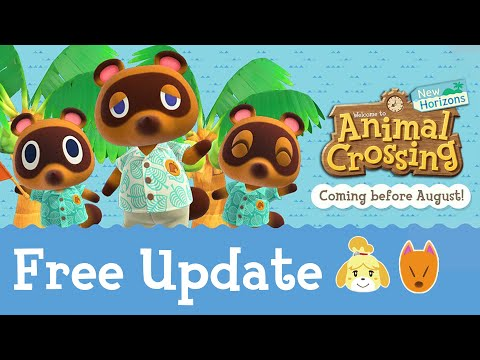 THIS IS THE WEEK! New Animal Crossing Update 1.11 for August...