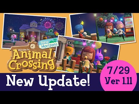 NEW Animal Crossing Update 1.11 OFFICIAL RELEASE! 7/29/21