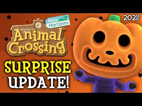 EARLY HALLOWEEN UPDATE! New Animal Crossing Update 1.11 (New DIY, New Items - New Horizons Update)