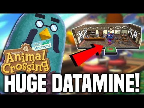 MAJOR FALL DATAMINE!! New Shops + Features COMING to Animal Crossing New Horizons?! Brewster, More!