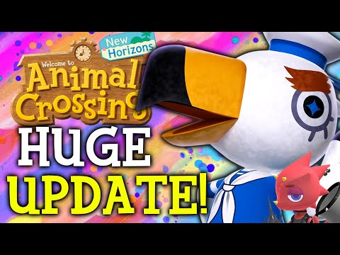 Animal Crossing August Update - ALL New Features, Events, Villagers, Fish, Bugs in New Horizons!